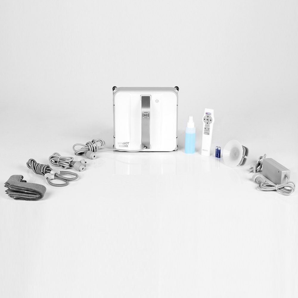 Robot Lavavetri Winbot.Campionario Dimostrativo Robot Lavavetri Ecovacs Winbot
