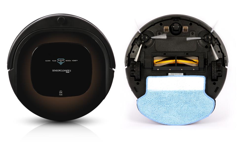 Robot lavapavimenti e aspirapolvere sensor cleaner plus for Robot aspirapolvere e lavapavimenti samsung